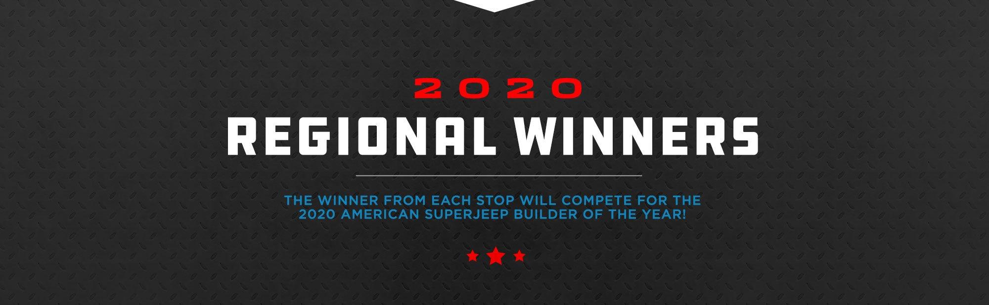 American SuperJeep Challenge Regional Winners
